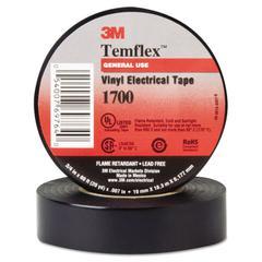 "Temflex 1700 Vinyl Electrical Tape, 3/4"" x 60ft"