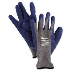PowerFlex Gloves, Blue/Gray, Size 10, 12 Pairs/Pack