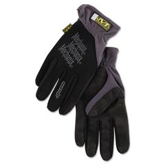 FastFit Work Gloves, Black, X-Large