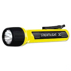 ProPolymer Flashlight, Xenon Bulb, Yellow, 3C (sold sep)