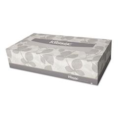 Kleenex White Facial Tissue, 2-Ply, Pop-Up Box, 100/Box