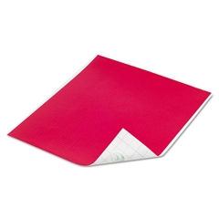 Tape Sheets, Red, 6/Pack