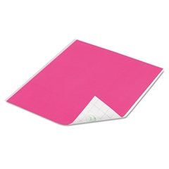 Tape Sheets, Pink, 6/Pack