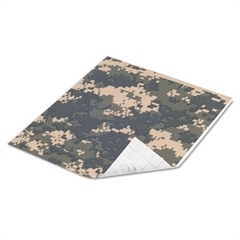 Duck Tape Sheets, Digital Camo, 6/Pack