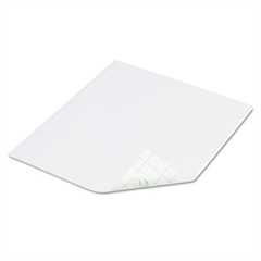 Tape Sheets, White, 6/Pack