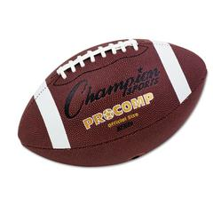 "Champion Sports Pro Composite Football, Official Size, 22"", Brown"