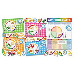 My Food Plate Bulletin Board Set, with Poster and Activity Guide