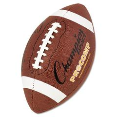 "Champion Sports Pro Composite Football, Intermediate Size, 21"", Brown"