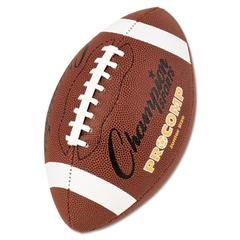 "Champion Sports Pro Composite Football, Junior Size, 20.75"", Brown"