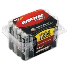 Rayovac Ultra Pro Alkaline Batteries, AAA, 24/Pack