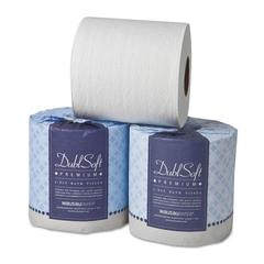 DublSoft Universal Bathroom Tissue, 2-Ply, 80 Rolls/Carton
