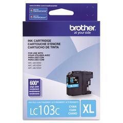 Brother LC103C Innobella High-Yield Ink, Cyan