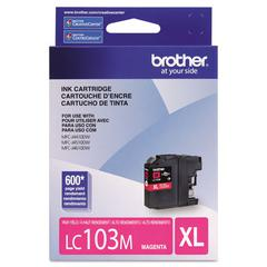 Brother LC103M Innobella High-Yield Ink, Magenta