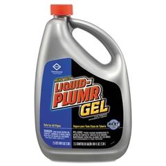 Liquid Plumr Heavy-Duty Clog Remover, Gel, 80oz Bottle, 6/Carton