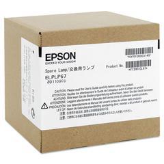 Epson ELPLP67 Replacement Lamp for EX, MegaPlex, PowerLite 1221/1261W/S11/X12, VS