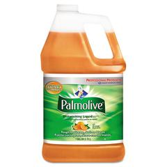 Palmolive Dishwashing Liquid & Hand Soap, Orange Scent, 1 gal Bottle, 4/Carton
