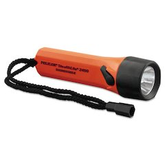 StealthLite Flashlight, ABS Body, 10000 Candle Power, Orange