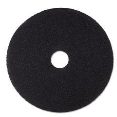 "3M Low-Speed Stripper Floor Pad 7200, 20"", Black, 5/Carton"