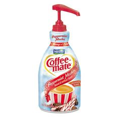 Coffee-mate Liquid Coffee Creamer, Peppermint Mocha, 1500mL Pump Bottle