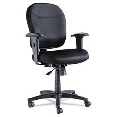 Alera Alera Wrigley Series Mesh Mid-Back Chair, Black