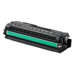 Samsung CLTC506S Toner, 1,500 page yield, Cyan
