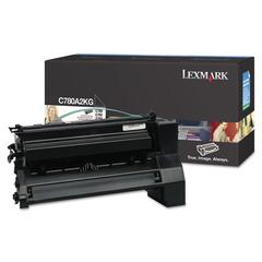 Lexmark C780A2KG Toner, 6000 Page-Yield, Black