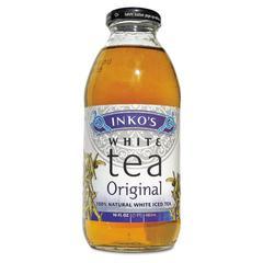 Ready-To-Drink Original White Tea with Ginger, 16oz Bottle, 12/Carton