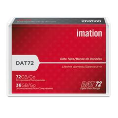 "imation 1/8"" DAT 72 Cartridge, 170m, 36GB Native/72GB Compressed Capacity"