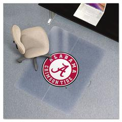Collegiate Chair Mat for Low Pile Carpet, 36 x 48, Alabama Crimson Tide