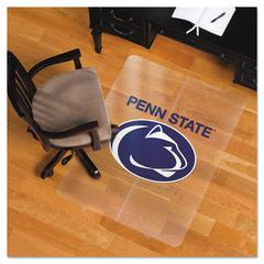 ES Robbins Collegiate Chair Mat for Hard Floors, 36 x 48, Penn State Nittany Lions