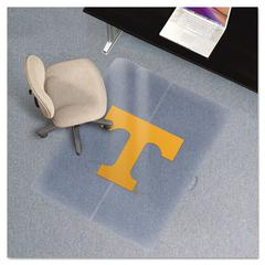 ES Robbins Collegiate Chair Mat for Low Pile Carpet, 36 x 48, Tennessee Volunteers