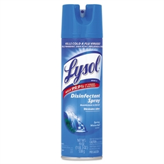 Disinfectant Spray, Crisp Linen Scent, 19oz Aerosol