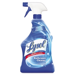 Disinfectant Bathroom Cleaners, Liquid, 32oz Bottle