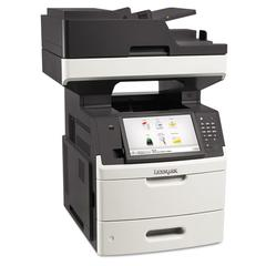 MX711dhe Multifunction Laser Printer, Copy/Fax/Print/Scan