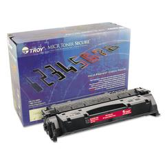 Troy 281551001, CF-280X, MICR High-Yield Toner Secure, 6800 Page-Yield, Black