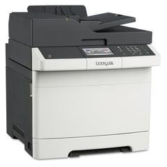 CX410de Multifunction Color Laser Printer, Copy/Fax/Print/Scan