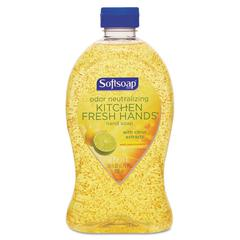 Softsoap Hand Soap, Kitchen Fresh Hands, Citrus Scent, 28 oz Bottle, 6/Carton