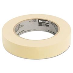 """Scotch Masking Tape, 24mm x 55m, 3"""" Core, Tan"""