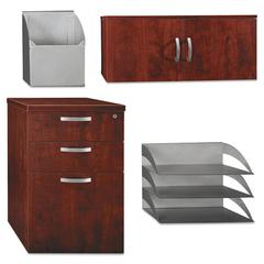 Bush Storage/Accessory Kit Office-in-an-Hour Hansen Cherry