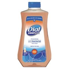 Dial Antibacterial Foaming Hand Soap, Original Scent, 40oz, 6/Carton