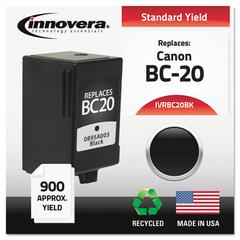 Innovera Remanufactured 0895A003 (BC20) Ink, Black