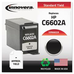 Innovera Remanufactured C6602A Ink, Black