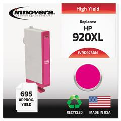 Innovera Remanufactured CD973AN (920XL) High-Yield Chipped Ink, Magenta