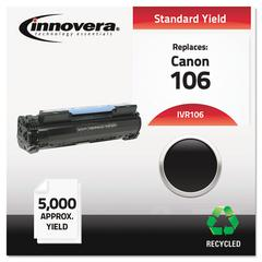 Innovera Remanufactured 0264B001 (106) Toner, Black