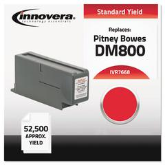 Compatible 766-8 Postage Meter Ink, Red