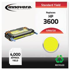 Innovera Remanufactured Q6472A (502A) Toner, Yellow