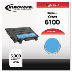 Innovera Remanufactured 106R00680 (6100) High-Yield Toner, Cyan
