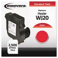 Innovera Compatible WJ20INK (20) Postage Meter Ink, Red