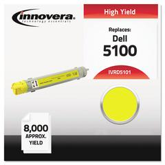 Innovera Compatible 310-5808 (5100) High-Yield Toner, Yellow