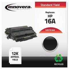 Innovera Remanufactured Q7516A (16A) Toner, Black